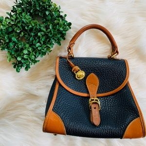 Dooney & Bourke leather  small satchel handbag